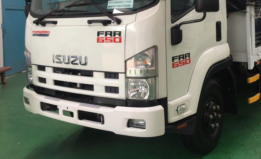 Xe tải Isuzu FVR34 Euro 4