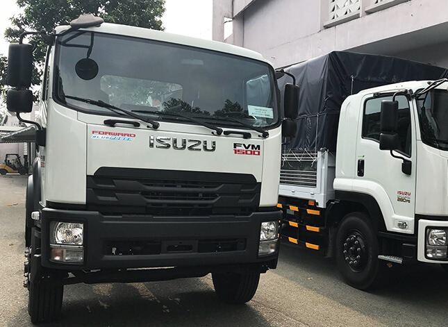 Xe tải Isuzu 3 chân FVM EURO 4