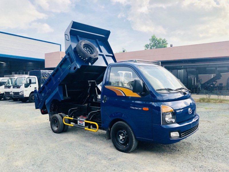 xe ben tự đổ 1 tấn H150 hyundai porter 150